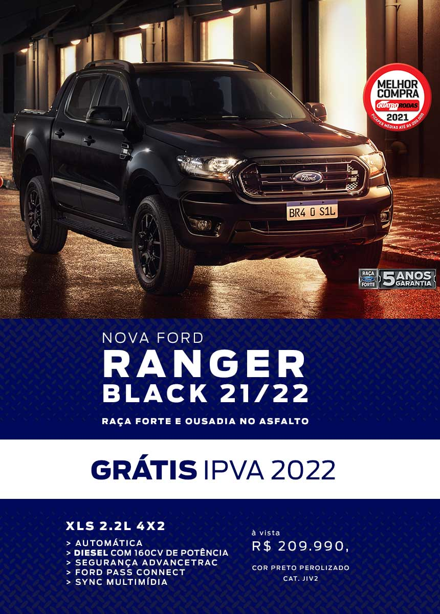 RP > Novos > Ranger Black > Até 31/10